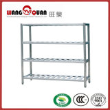 Unità solida della scaffalatura della doppia della fila cucina dell'acciaio inossidabile