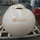 Cream White Color Spherical Shape Aluminum Sheet for External Wall Decoration