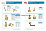 Messingwiderhaken-Adapter-hydraulische Schlauch-Befestigung (Identifikation x FAV)