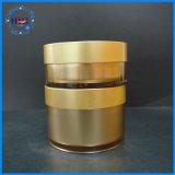 Kosmetische verpackenhaustier-flache grosse Sahneglas-Kosmetik