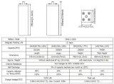 Opzs Série 2V1500ah da bateria com as placas tubulares para a tevê Appliation de Telecome/UPS/Railway/Security/Medical/Alarm/Cable