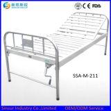 중국 싼 병원 가구 스테인리스 1 기능 수동 의학 침대