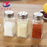 Muestra gratuita de agitador de especias sal de metal con tapa para utensilios de cocina