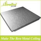 Clip de plafond 600 * 600 à faible coût dans le plafond pour immeubles de bureaux