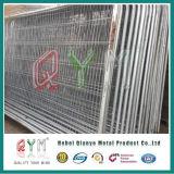 高い安全性は販売のための溶接された曲げられた金網の塀のパネルに電流を通した