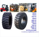 Largas horas de trabajo montacargas Neumático Neumático macizo 7.00-9 7,00-12 7.00-15 7.00-16
