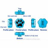3G mini IP66 imperméabilisent le traqueur de l'animal familier GPS avec le collier (V40)
