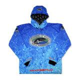 La sublimation haute qualité pour hommes d'usure de la pêche La pêche shirt bon marché