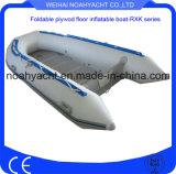 중국 대중적인 공장은 백색 로잉 PVC에게 단단한 합판 바닥을%s 가진 팽창식 어선을 만들었다