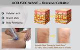 La terapia de ondas de choque radiales de la máquina para el tratamiento de reducción de celulitis