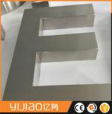 Letras Decorativas del Metal del Cepillo Extrafino