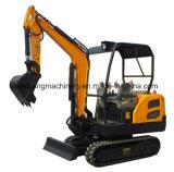 Mini escavador Chain de Wy18h China 1.8ton
