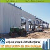 専門の大きいプレハブの鋼鉄倉庫