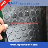 Coin Pattern Rubber Flooring Mat pour pare-chocs imperméable à l'eau / Big Coin Pattern Rubber Mat.