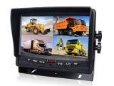 Système de caméra de sécurité avec couleur 7 pouces moniteur LCD numérique Quad