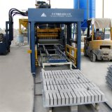 Qft6-15 Automatizado Betão Cimento Brick \ Block Making Machineqft6-15