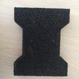 Forma do osso Dog Borracha Tapetes de piso de intertravamento