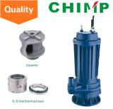 Wq (d) Einzeln-Phase oder Three-Phase 0.75kw Dirty Water Submersible Centrifugal Pump (WQ (D) 10-8-0.75)