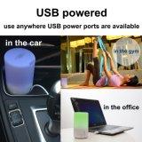 70 ml de aromaterapia aceite esencial USB del coche del difusor mini portátil ultrasónico de vapor frío aire del aroma del humidificador