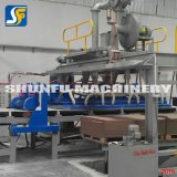 Linha de produção ondulada Recyclable de grande resistência preço do cartão da caixa da máquina