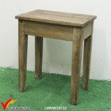 Clásico francés de la vendimia de madera silla de comedor