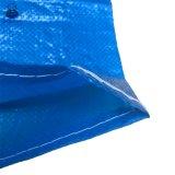 파란 색깔 25kg PP에 의하여 길쌈되는 곡물 저장 부대