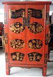 Het Chinese Antieke Meubilair schilderde Groot Kabinet