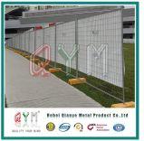 El panel de la cerca galvanizó el panel temporal soldado de la cerca/el panel de la barrera del control de muchedumbre