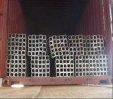 Tubo d'acciaio d'acciaio galvanizzato BS1387 quadrato/del tubo per costruzione