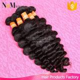 Волнистое с самым высоким рейтингом Weave человеческих волос девственницы Remy перуанское