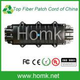 Cierre 24 Core empalmes de fibra óptica 4 en 4