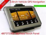 GPS van de Vrachtwagen van 5.0 Duim Navigatie met Bluetooth aV-in Functie