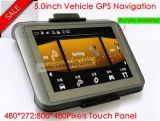 5.0 pouce de chariot avec navigation GPS Bluetooth Fonction AV-in