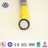 Câble d'entrée de service de métro Rhh Rhw ou utilisez le câble d'alliage en aluminium