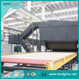 Ld-Ab plat/Ligne de Production de verre trempé de flexion