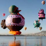 400kg 파란 상업적인 Inflatables 유인 비행 최신 풍선