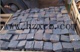 Ciottoli neri di Zhangpu, pietra del lastricatore del basalto, basalto scuro, mattonelle, Cubestone