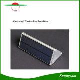 48LED IP65 Garten-Licht-Superhelligkeits-im Freien Beleuchtung-Radar-Bewegungs-Fühler-Solarwand-Licht