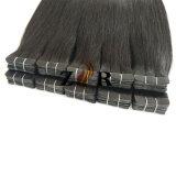 De donkere Band van het Haar van de Kleur Dubbel Getrokken Indische in de Uitbreiding van het Haar
