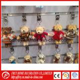 Мини-Симпатичные мягкие Мишка цепочки ключей игрушка