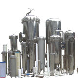 Water Treatmentのためのステンレス製のSteel Cartridge Filter Housing Filter Vessel