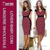 Lady (L28020)를 위한 사랑스러운 Mini Dress Fashion Clothes