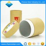 Los marcadores de la impresión de color personalizado de tubo de papel marrón embalaje