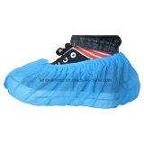 Antideslizante Nonwoven Fabricado por la máquina Blue Shoe Cover