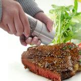 Smerigliatrice di pepe manuale dell'acciaio inossidabile