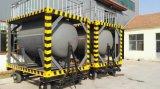 Contenitore diesel del serbatoio del combustibile di piccola dimensione con le rotelle