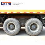 35 톤 40 톤 수용량 Shacman 팁 주는 사람 트럭은 덤프 트럭을 나른다