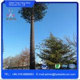 직류 전기를 통한 위장된 소나무 탑 통신 강철 탑