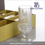 7oz graviertes Qualitäts-Glas mit Stamm