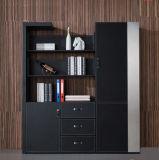 Moderner Entwurfs-Northern- Europeart hölzerner hoher glatter MDF-Bücherregal-Bücherschrank